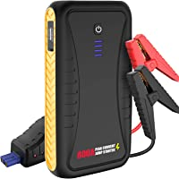 $39 » Car Jump Starter - 800A Peak with USB Quick Charge, 12V Portable Power Pack, Auto Battery…