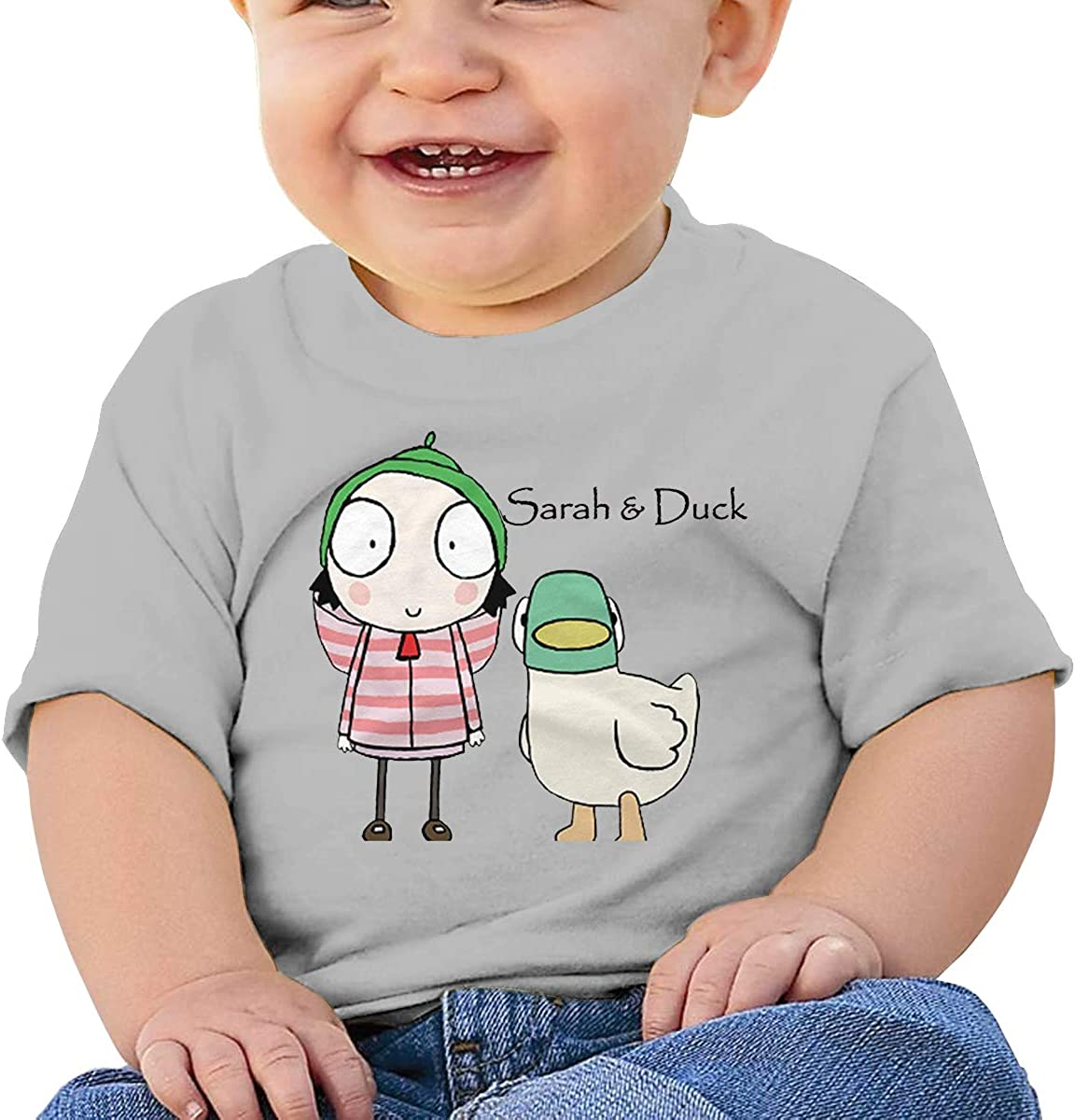 DONGLY 6-24 Month Baby T-Shirt Sarah /& Duck Nordic Winter Personality Wild Gray