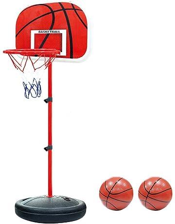 dbdf732e055 Pellor Canasta Aro de Baloncesto Ajustable,150CM / 170CM Aro de Blaconcesto  para Niños y