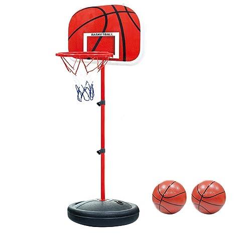 PELLOR Canasta Aro de Baloncesto Ajustable,150CM/170CM Aro de ...