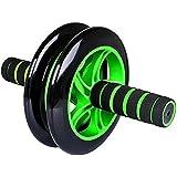 Aurion Black/Blue Total Body Ab Exerciser Double Wheel Unisex Ab Abdominal Roller