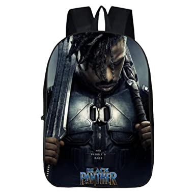 Amazon Com Black Panther Backpack 17 Boys Girls Travel Bag School
