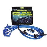 Taylor Cable 64628 Blue 8mm High Energy Spark Plug Custom Wire Set photo