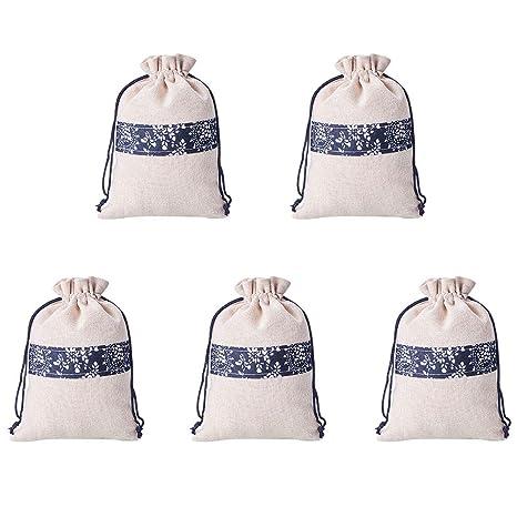 NBEADS Bolsas de almacenamiento con cordón de estilo étnico ...