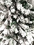 Perfect Holiday Christmas Tree, 4-Feet, Flocked Snow