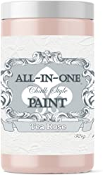 Tea Rose, Heritage Collection All in One Chalk Style Paint (NO Wax!) (32oz)