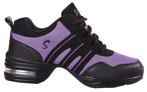 Zapatos de Baile Danza Moderna Zapatos de Jazz Movimiento Zapatos de la Aptitud: Amazon.es: Zapatos y complementos