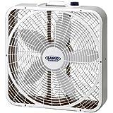 """Lasko #3720 20"""" Weather-Shield Performance Box Fan"""