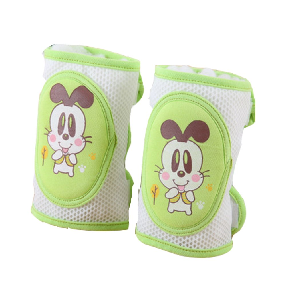 Unisex Infant Baby Safety Crawling Elbow Cushion Toddlers Knee Cute Animal Design Protector Leg Warmers