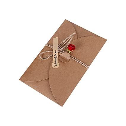 Amazon.com : Jia Hu 12Pack Vintage Kraft Paper Small DIY ...