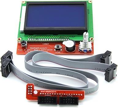 Promotion 3D Printer Kit Reprap Smart 3D Printer Parts Controller Display Reprap