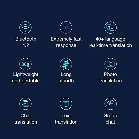 CHuangQi Dispositivo Inteligente de traducción de Idiomas de Voz ...