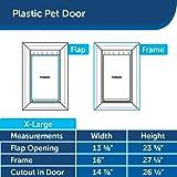 PetSafe Plastic Pet Door Extra-Large with Soft