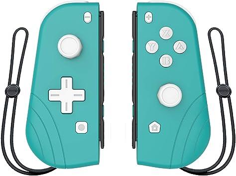 Mando inalámbrico Joy-con para Nintendo Switch, Proslife L/R joycon Switch Remoto Gamepad con Correa para la muñeca Cian: Amazon.es: Informática