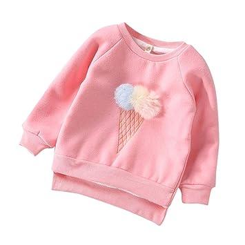 42e97a369 Amazon.com  Hot Crazy!Kids Boys Girls Clothes Long Sleeves 3D Ice ...