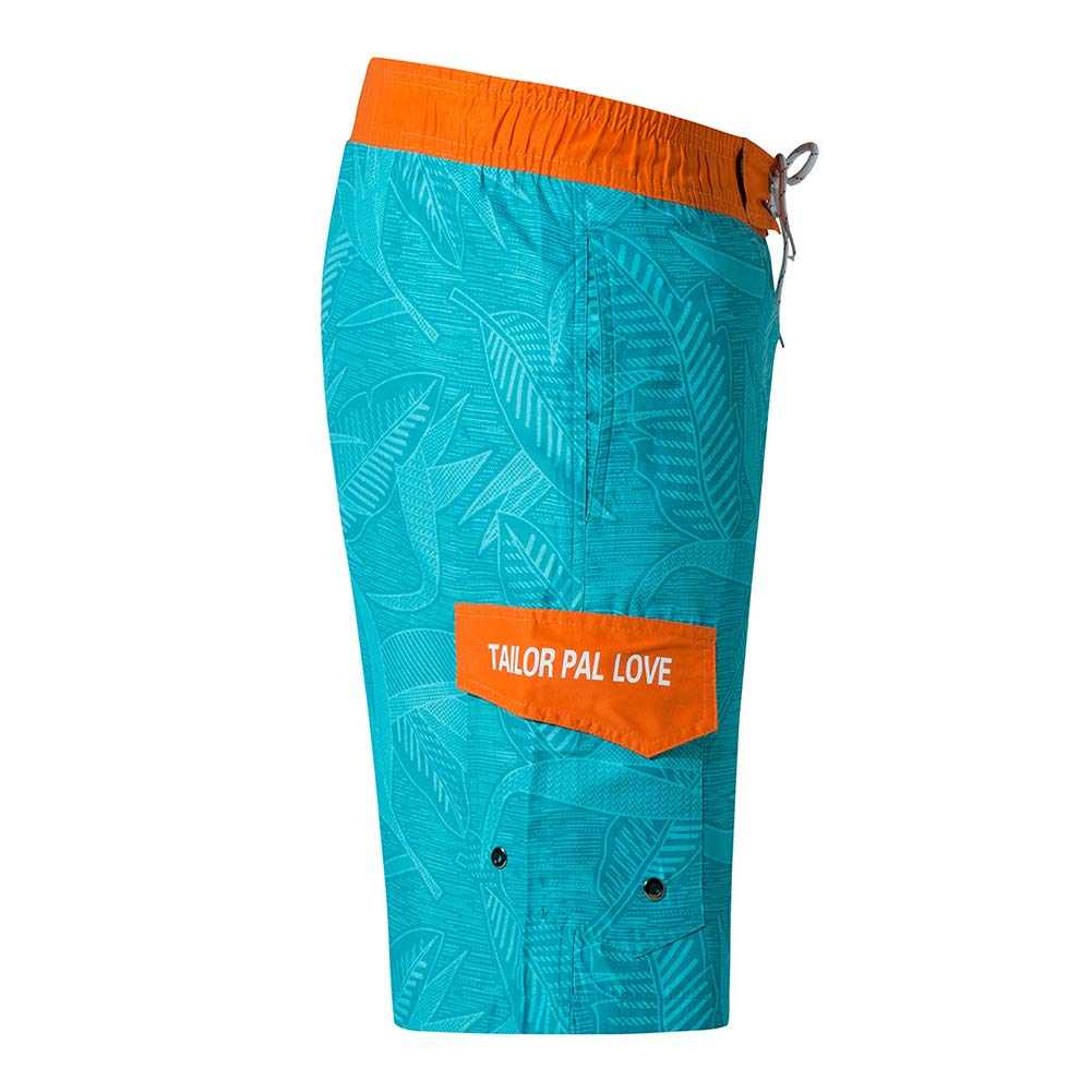 oolivupf Mens Swim Trunks Quick Dry Beach Shorts Swimsuit Casual Style