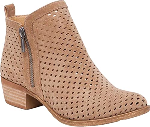 Amazon.com: Lucky Brand Basel3 Botines para mujer, Beige ...