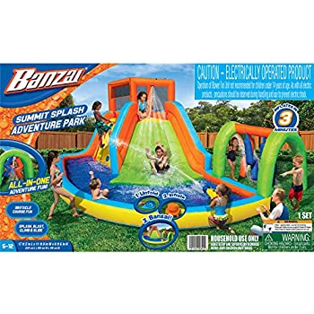 Amazon Com Bestway H2ogo Turbo Splash Water Zone Mega