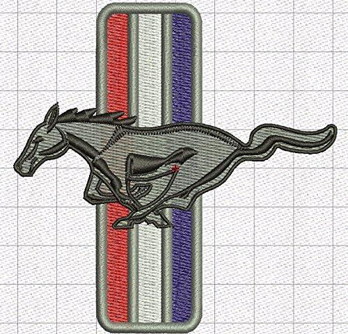 Ford Mustang K048 Casquette de baseball avec logo brod/é