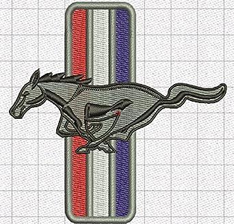 Ford Mustang Gestickte Polo Fun Poloshirt 002-48 super Premium-Qualit/ät