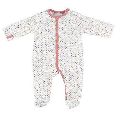 124ed99c29729 Noukie s Noukies Z887131 Pyjama grenouillère en Velours Bébé Fille ...