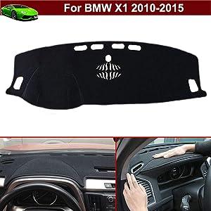 New 1pcs Black Non-Slip Dash Mat Dashboard Mat Dash Carpet Dash Covers Dashboard Cover Custom Fit for BMW X1 2010 2011 2012 2013 2014 2015