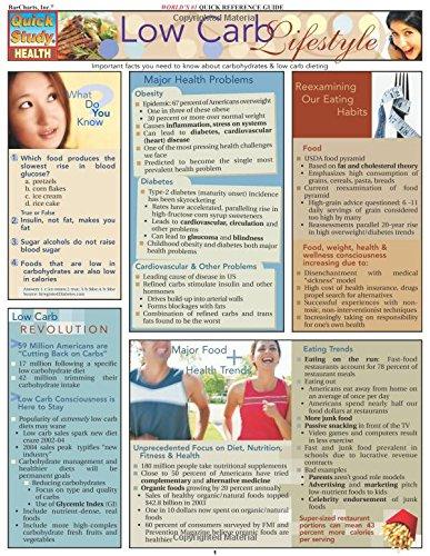 Low Carb Lifestyle (Quick Study Health) PDF