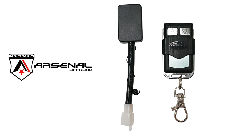 Wireless Remote Control Universal Wiring Harness Off Atv Jeep Led Light Bar Kit 40 Amp Relay On Switch Road Utv Trucks Automotive