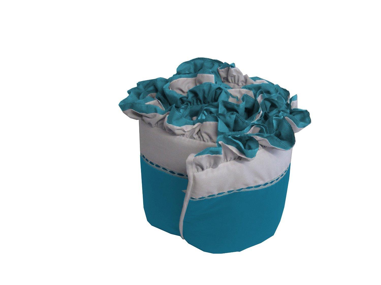 White Babykidsbargains Regal Cradle Bumper 18 x 36