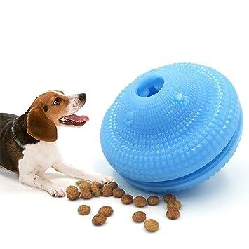 Pawaca - Dispensador de Comida para Perros y Gatos, Juguete de Limpieza de dentición,