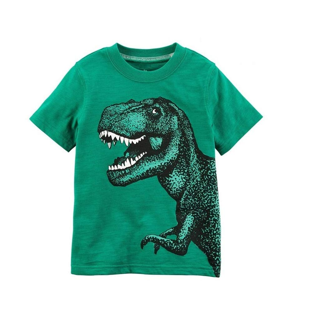 Baby Boys Tees Shirts Tops Cotton Short Sleeve Boy T-Shirt Kids Outfit