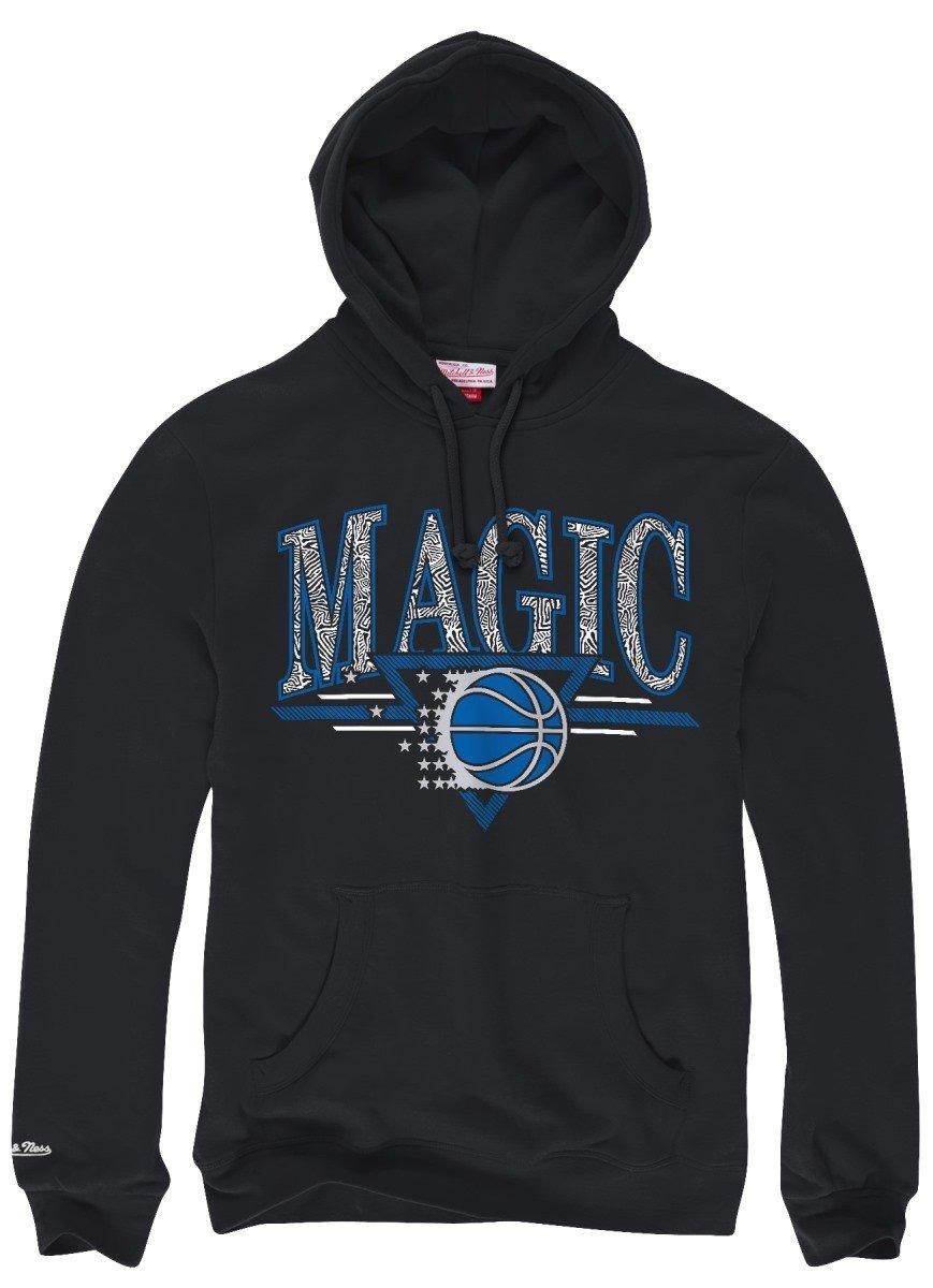 Orlando Magic Mitchell & Ness NBA Abstract Vibes」プルオーバーフード付きスウェットシャツ   B00LJ88LG2