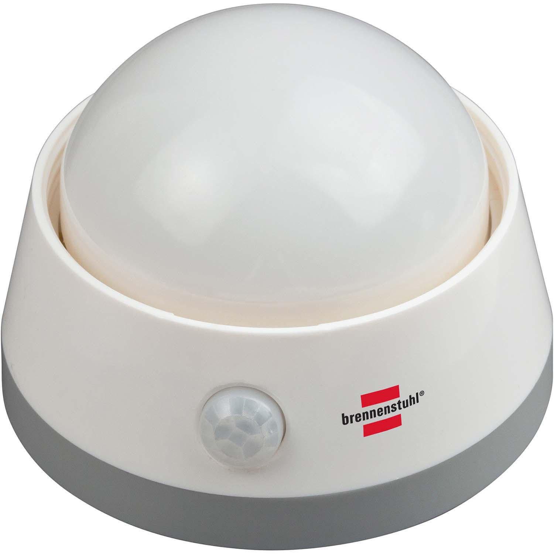 Luz nocturna lámpara foco LED 60 W sobre pilas con detector de presencia movimiento: Amazon.es: Iluminación