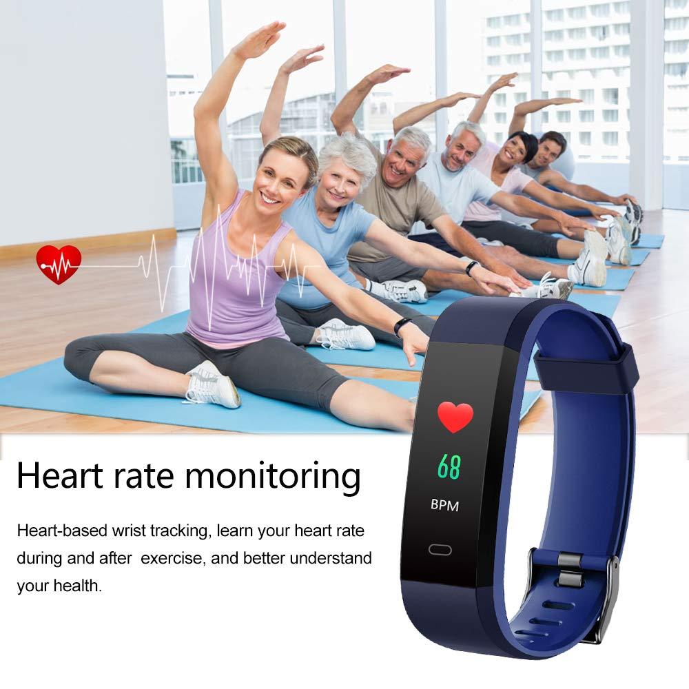 Amazon.com: Willful Fitness Tracker con monitor de ...