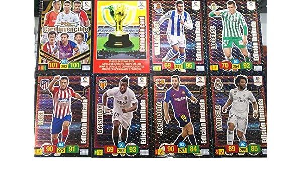 Adrenalyn XL 6 Cartas ed.Limitada Premium+campeoncard+Card ...
