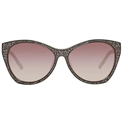 Swarovski Damen Sonnenbrille SK0108F-5948F, Braun (Shiny Dark Brown), 59