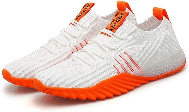 Zapatillas de Estar por casa para Hombre, Estilo Casual, de Malla, para Tenis, Ligeras, para Entrenar, Correr, Transpirables Size: 44 EU: Amazon.es: Zapatos y complementos