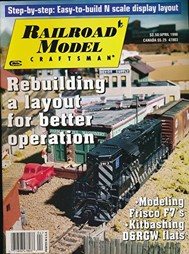 Railroad Model Craftsman : Rebuilding a Layout; Build a Simple N Scale Winter Wonderland; Modeling a Late 1800 Turntable; Building a Railtex Gp9; Powering a Double Crossover w/ a Single Motor