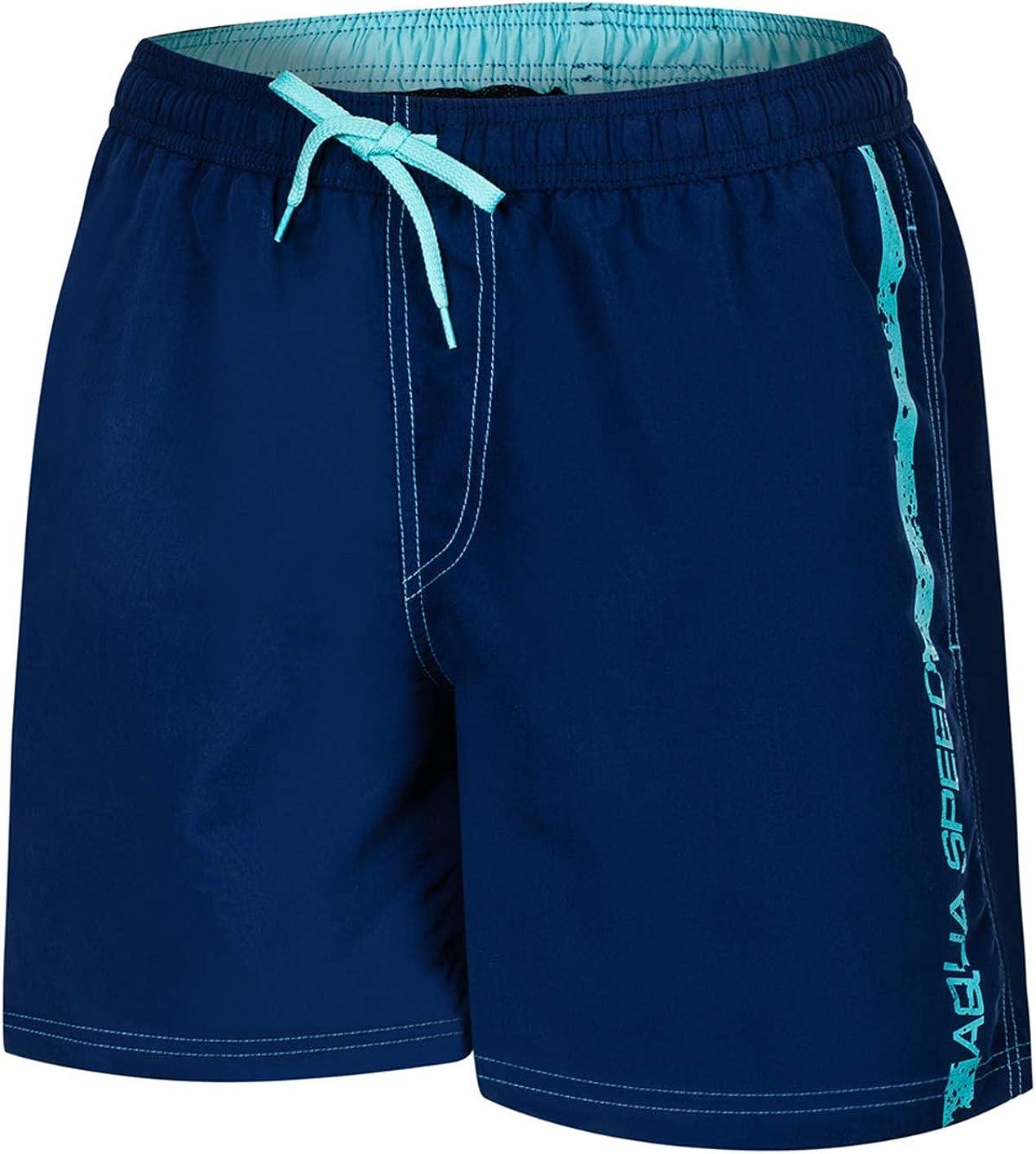 Aqua Speed 5908217667083 Ace Swim - Bañador para Hombre, Talla XL, Color Azul Marino y Azul