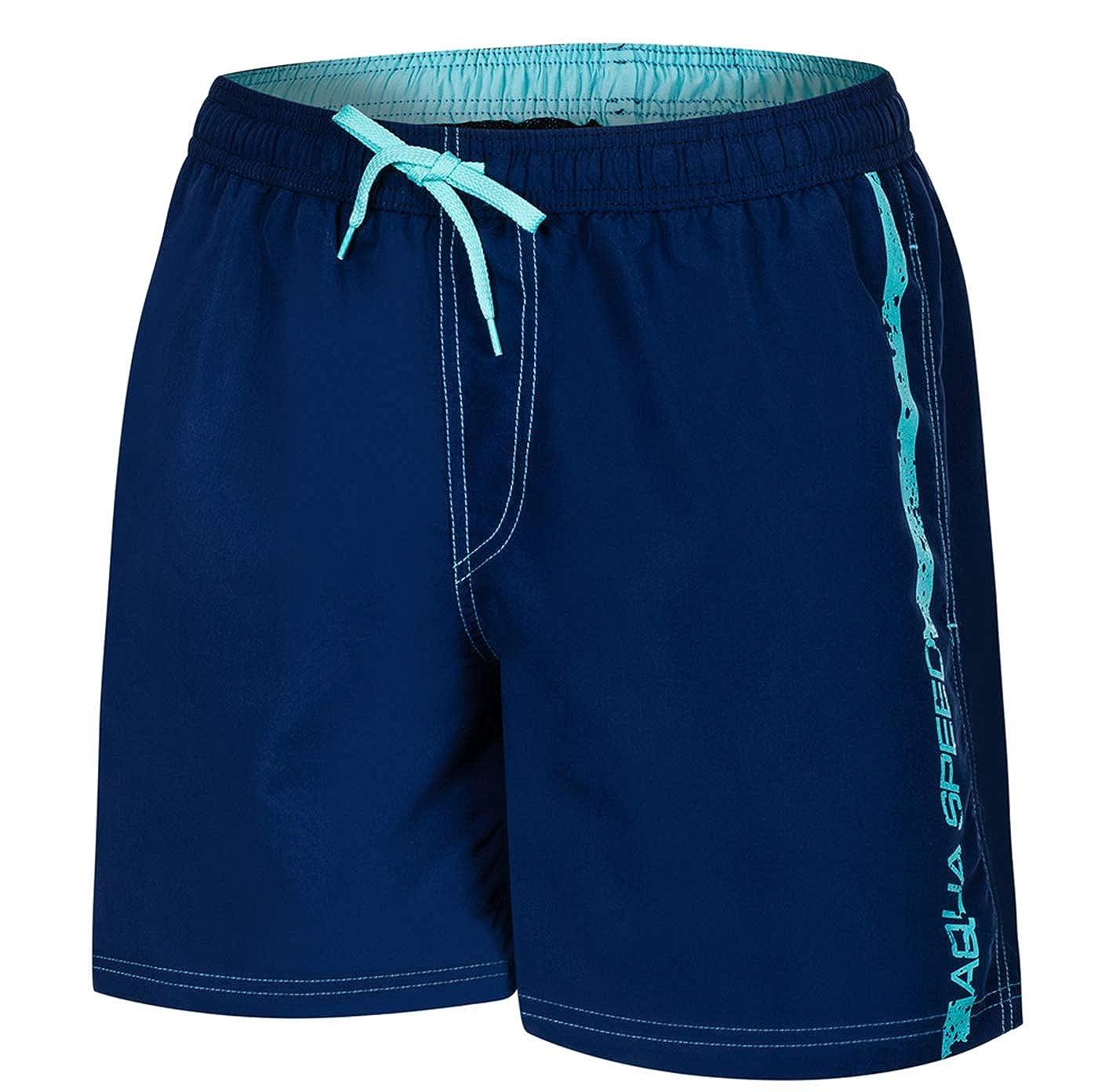 Aqua Speed 5908217667090 Ace Swim - Bañador para Hombre, Talla XXL, Color Azul Marino y Azul