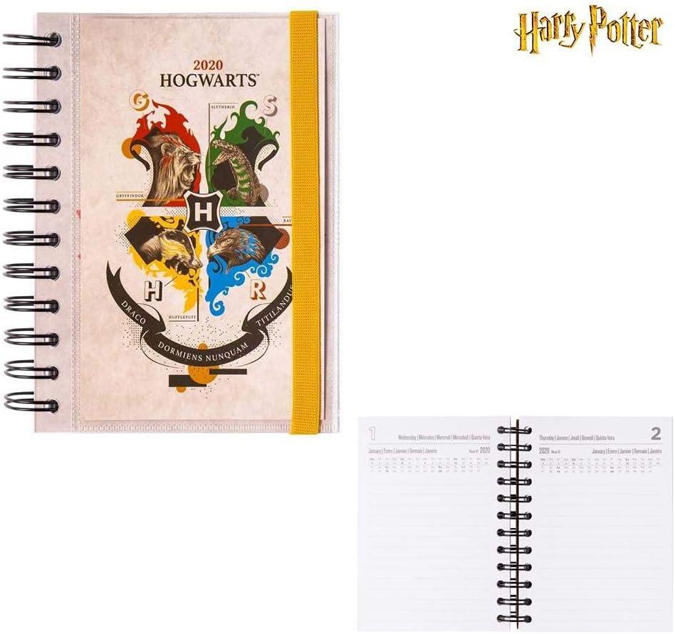 Pack agenda anual Harry potter 2020 incluye giratiempos y tickets ...