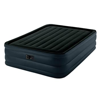 c5ff35afa8ff7 Intex Raised Downy Airbed with Built-in Electric Pump