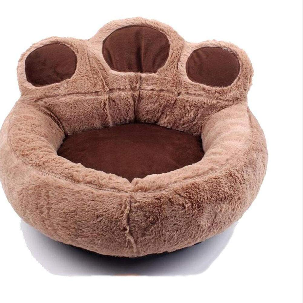 Brown Medium Brown Medium H.ZHOU Dogs and Cats Bed Liners & Mats Pet Bed Removable And Washable Available In Four Seasons Small Kennel Cat Nest (color   BROWN, Size   M)