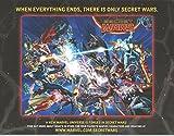 #9: Secret Wars Battleworld Map / Poster Marvel 2015 B