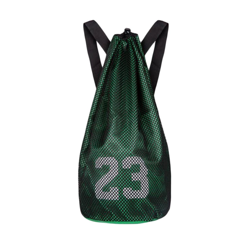 George Jimmy Training Backpack Basketball Volleyball Soccer Pocket Outdoor Sport Organizer Bag-Green