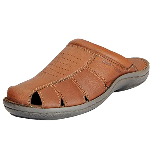 2a50ecff118 Hush Puppies Mens Tan Sandals 874-4908-41  Buy Online at Low Prices in  India - Amazon.in