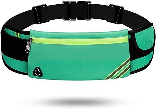 TAGVO Cintur/ón Deportivo con Parche Reflectante para Llevar Las Llaves Pasaporte iPhone 6 6s 7 Plus Galaxy Tarjetas identificaci/ón