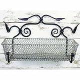Achla Designs C-03 Standard Aluminum Flower Basket