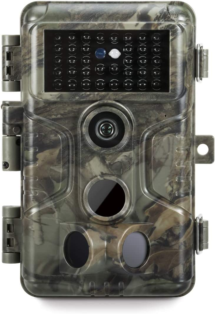 GardePro A3 Trail Camera 2020 , 20MP, 1080P H.264 HD Video, Clear 100ft No Glow Infrared Night Vision, 0.1s Trigger Speed, 82ft Motion Detection, Waterproof Cam for Wildlife Game Trail, Deer Hunting