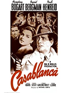Casablanca Classic Movie Large Poster Art Print Maxi A0 A1 A2 A3 A4
